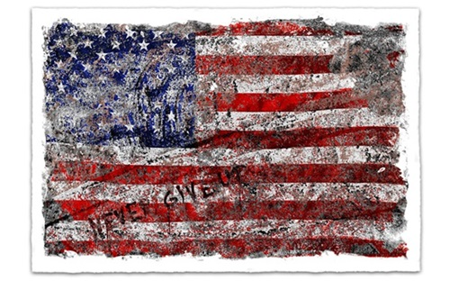 Freedom  by Mr Brainwash