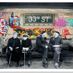 33rd Street by Mr Brainwash