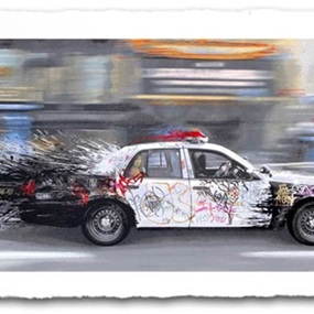 Metro Polisa (Paper Edition) by Mr Brainwash