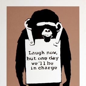 Laugh Now (Artist Proof) by Banksy