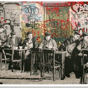 Le Bistro (First edition) by Mr Brainwash