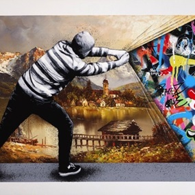 Behind The Curtain (Landscape Variant) by Martin Whatson