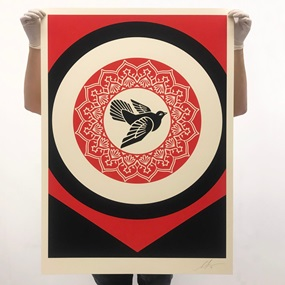 Rise From The Ashes (Black) by Shepard Fairey