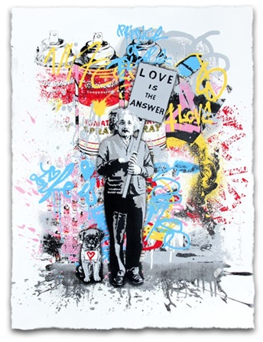 Love Is The Answer (2015) (First Edition) by Mr Brainwash