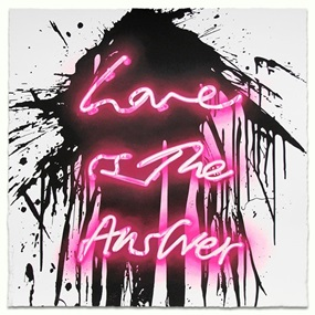 Love On by Mr Brainwash
