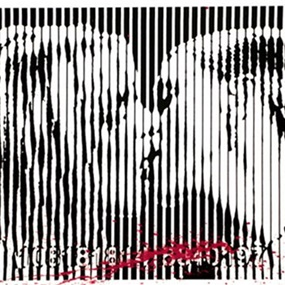 Freedom Kiss by Mr Brainwash