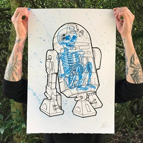 R2D2 V2 (Hand Finished) by Will Blood