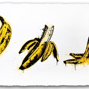 Banana Split (White) by Mr Brainwash