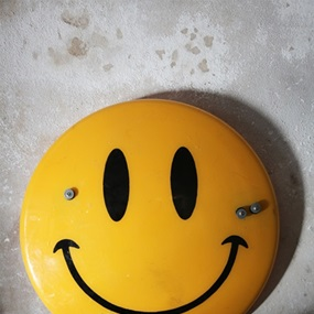 Smiley Riot Shield (Second Edition) by James Cauty