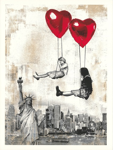 Love Is In The Air (2019) (First Edition) by Mr Brainwash