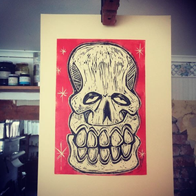 Red Skull by Sweet Toof