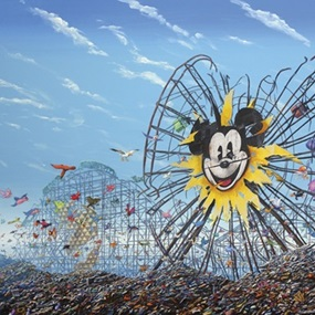 Ferris Wheel by Jeff Gillette