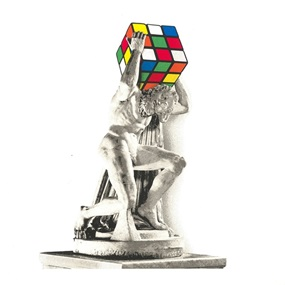 Atlas by Mr Brainwash