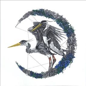 Heron Mechanimal (Blue Moon) by Ardif