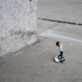 Office Politics (First Edition) by Slinkachu