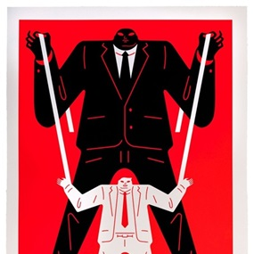 Little Big Man Putin / Trump (Red) by Cleon Peterson