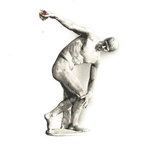 Discobolus by Mr Brainwash