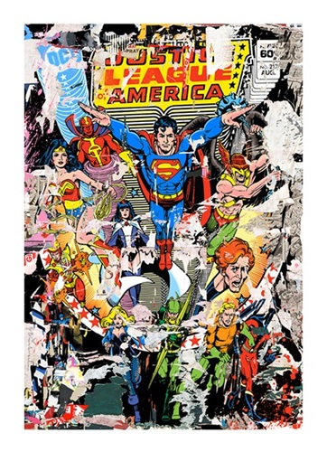 The Heroes  by Mr Brainwash