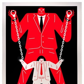 Little Big Man Mueller / Trump (Red) by Cleon Peterson