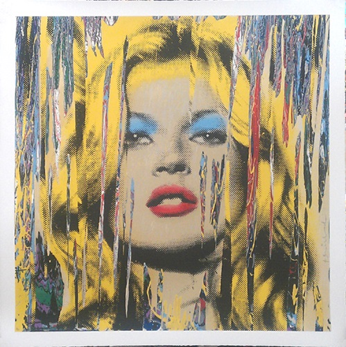 Following Kate Moss  by Mr Brainwash