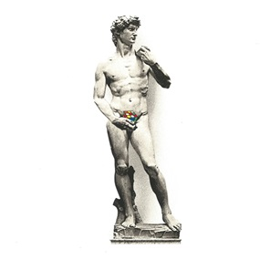 David by Mr Brainwash