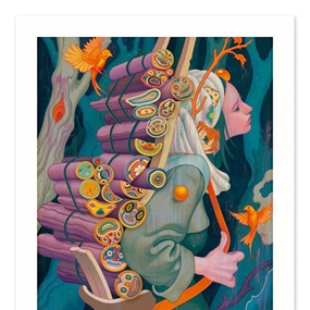 Kindling III (Timed Edition) by James Jean