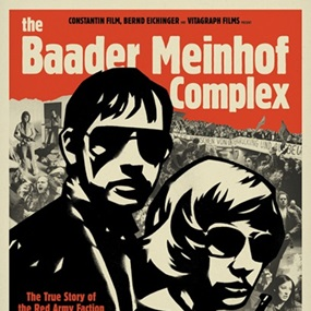 Baader Meinhof Print by Cleon Peterson