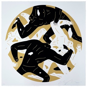 Out Of Darkness (Gold) by Cleon Peterson