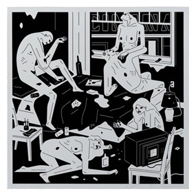Park Ave (White) by Cleon Peterson