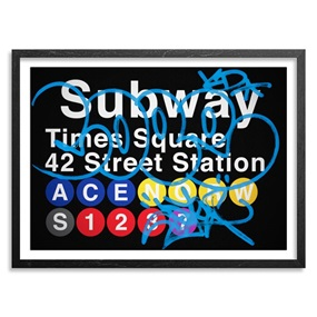42 Street Station / Times Square (Blue) by Cope2