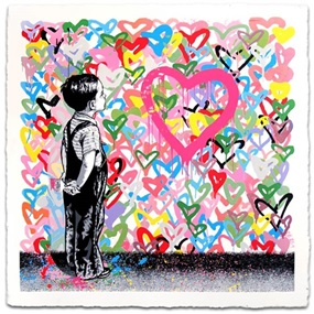With All My Love by Mr Brainwash