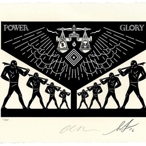 Scales Of Injustice (First Edition) by Shepard Fairey | Cleon Peterson