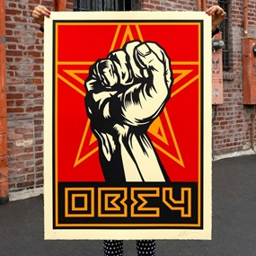 Fist (Large Format) by Shepard Fairey