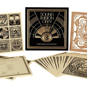 50 Shades Of Black (Box Set) by Shepard Fairey