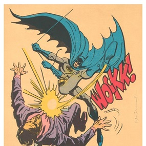 Bat-Wockk! by Mr Brainwash