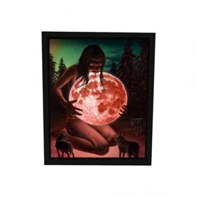 Blood Moon (Wood Edition) by Casey Weldon