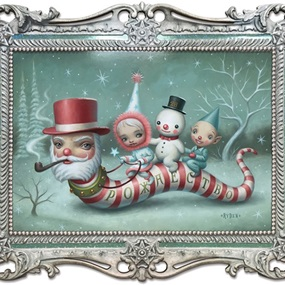 Santa Worm by Mark Ryden