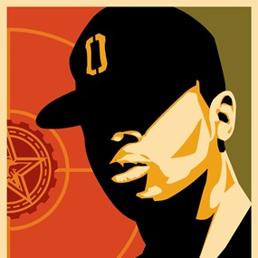 Chuck D (First Edition) by Shepard Fairey
