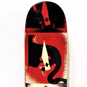 Cut It Up - Do It Yourself (Skate Deck) by Shepard Fairey