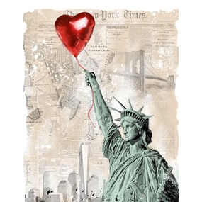 Heart & Soul (Paper) by Mr Brainwash