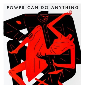 Power Can Do Anything / Justice Nothing (First Edition) by Cleon Peterson