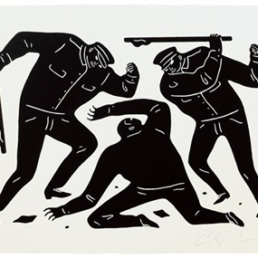 Civil Rights (Black) by Cleon Peterson