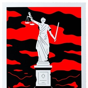 Monument To Power, Law (First Edition) by Cleon Peterson