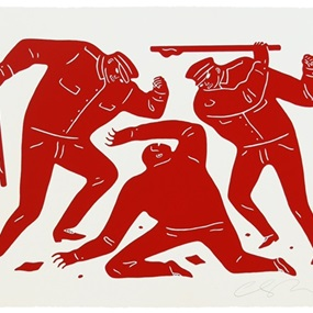 Civil Rights (Red) by Cleon Peterson