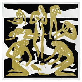 Virgins (Gold) by Cleon Peterson