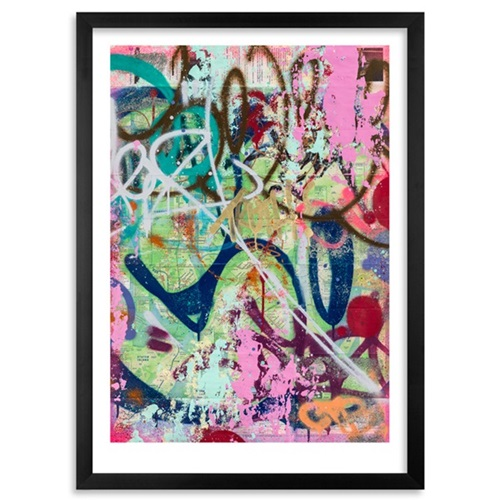 New York Subway Map Art.New York City Subway Map By Cope2 Editioned Artwork Art Collectorz