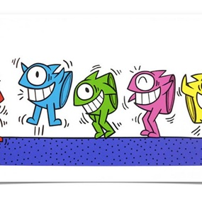 Dancing In A Haring Style by El Pez