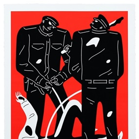 Pissers (Red) by Cleon Peterson