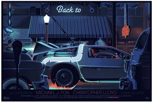 Back To The Future Part 1 By Laurent Durieux