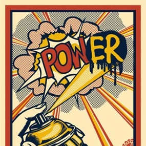 POW(ER) by Shepard Fairey